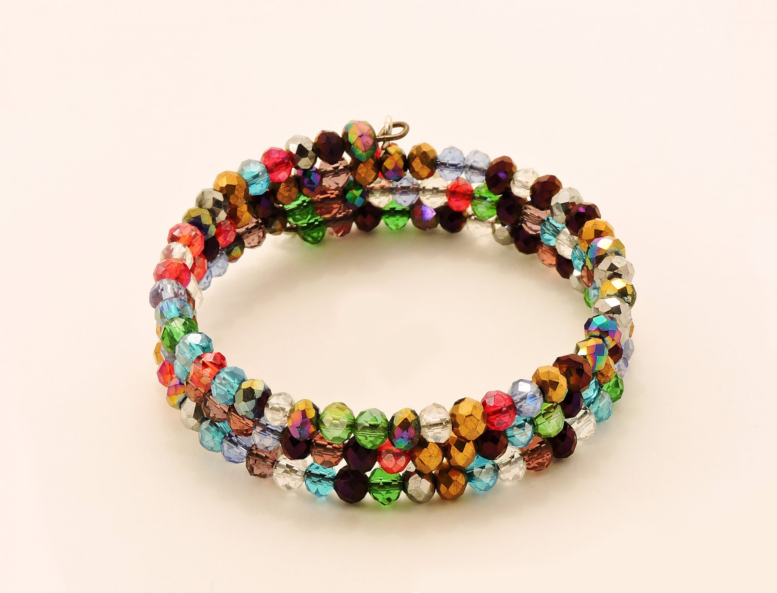 Bracelet escargot multicolore