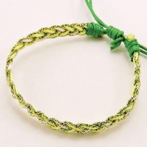 Bracelet vert femme