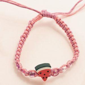 Bracelet fille pastèque