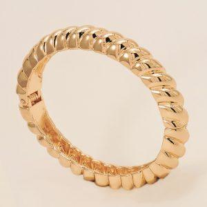 Bracelet en acier inoxydable doré